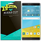 xtremeguard carbon fiber - Huawei Honor Note 8 Screen Protector [6-Pack], Klear Cut High Definition Matte Screen Protector for Huawei Honor Note 8 PET Film Anti-Glare and Anti-Bubble Shield