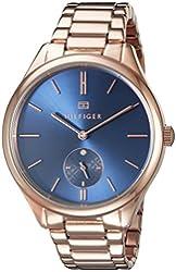 Tommy Hilfiger Women's 1781579 Analog Display Quartz Rose Gold Watch