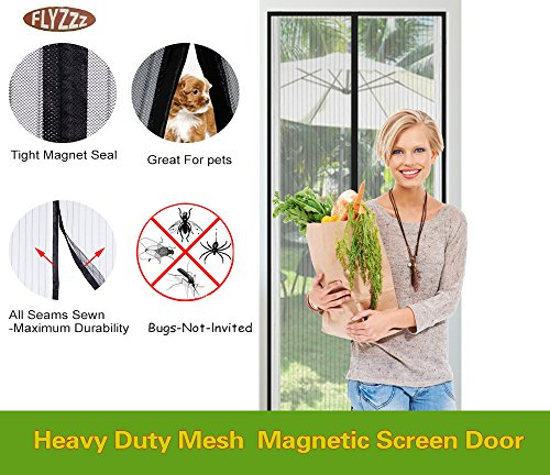Magnetic Screen Curtain Toddler Friendly