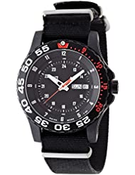 Traser P6600 Elite Red, Tactical Mission Watch on NATO Strap P6600.41F.1Y.01