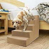 Homebase Dog Steps (Beige, 5 Steps)