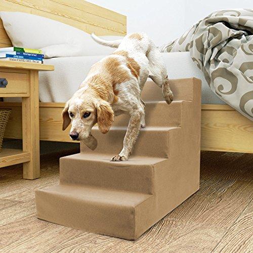 Homebase Dog Steps (Beige, 5 Steps) by Homebase