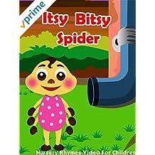 Itsy Bitsy Spider - Nursery Rhymes Video For Children