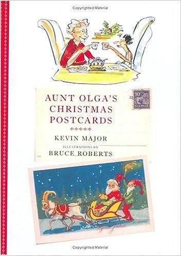 aunt olgas christmas postcards kevin major bruce roberts 9780888995933 amazoncom books