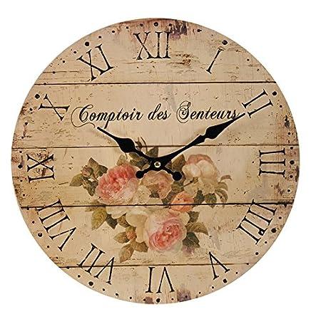 Francese Vintage Orologio da parete soggiorno orologio ...