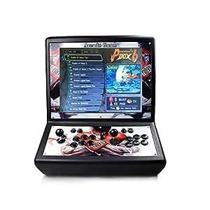 Theoutlettablet@ - Consola Bartop Retro Maquina Arcade Video Gamepad con Pantalla LCD 19