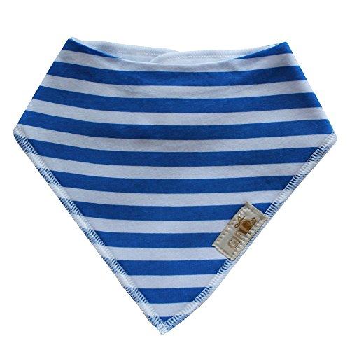 Gift it! Baby Bandana Drool bibs. Little sailor - Super Absorbent, Soft, Organic cotton & Soft design Set of 4 - Cute Baby Shower Gift.