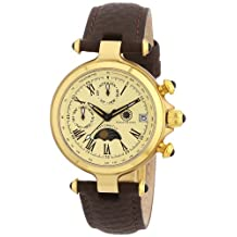 Constantin Durmont Women's Automatic Watch Mirage CD-MIRL-AT-LT-GDGD-CR with Leather Strap
