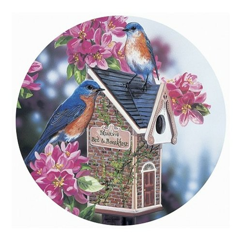 Master Pieces Bluebird Bed and Breakfast Round 500 Piece Jigsaw Puzzle