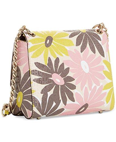 Guess, Borsa a mano donna multicolore Floral Multi