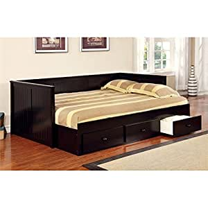 Furniture of america aidan full daybed with for Bedroom furniture amazon
