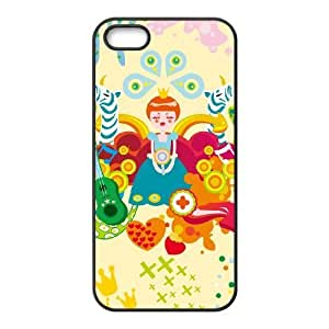 Protective TPU cover case colorful1112042 iPhone 4 4s Cell Phone Case Black