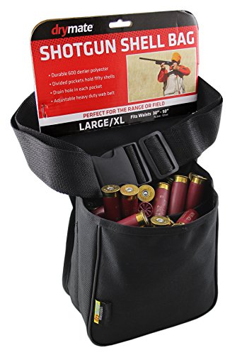 Drymate SB-WBB Two Pocket Shotgun Shell Bag with Belt, One Size