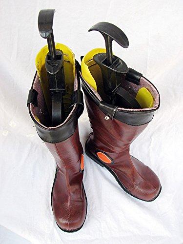 Yu-gi-oh! 5ds Yusei Fudo Cosplay Schoenen Laarzen Op Maat Gemaakt