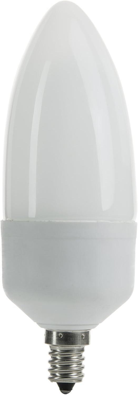 Sunlite SLC7TW//27K//CD 7 Watt White Torpedo Tip Chandelier Energy Saving CFL Light Bulb Candelabra Base Warm White