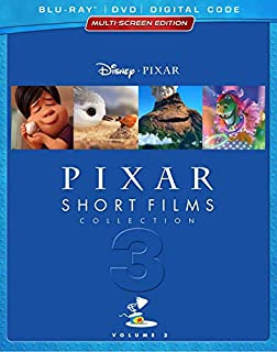 PIXAR SHORT FILMS COLLECTION: VOLUME 3 (HOME VIDEO RELEASE) [Blu-ray] (Bilingual) (B07G28Y3SV) | Amazon price tracker / tracking, Amazon price history charts, Amazon price watches, Amazon price drop alerts