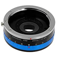 Fotodiox Pro Lens Mount Adapter - Canon EOS (EF / EF-S) D/SLR Lens to Fujifilm X-Series Mirrorless Camera Body