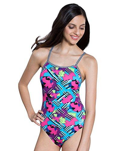 5344a6b34ce92 Dolfin Uglies Swimsuit String Back | AMZ9501L (34, Origami)