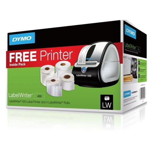 DYMO LabelWriter 450 Label Printer Bundle with Labels for PC and Apple Mac by DYMO (Image #1)
