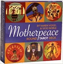 The Motherpeace Round Tarot Deck: 78-Card Deck by Vicki Noble (English)