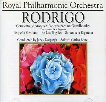 Amazon.com: Rodrigo: Concierto de Aranjuez, Fantasia para un ...