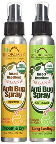 Organic Repellent Certified synthetic chemicals