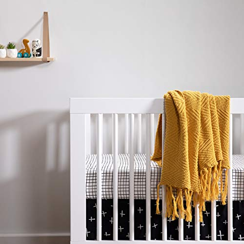 51N2QDfWYPL - Babyletto Hudson 3-in-1 Convertible Crib With Toddler Bed Conversion Kit In White, Greenguard Gold Certified