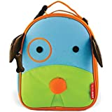 Skip Hop Baby Zoo Little Kid and Toddler Insulated and Water-Resistant Lunch Bag, Multi Darby Dog