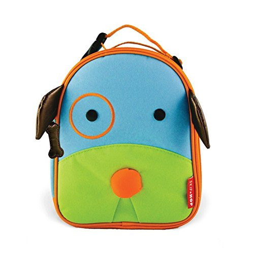 Skip Hop Zoo Kids Insulated Lunch Box, Darby Dog, 9