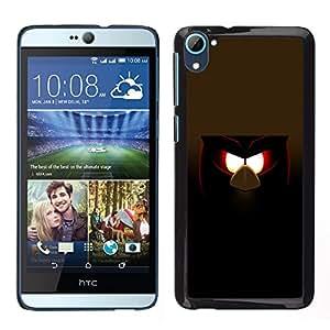 LECELL--Funda protectora / Cubierta / Piel For HTC Desire D826 -- Malvada divertida del pájaro --