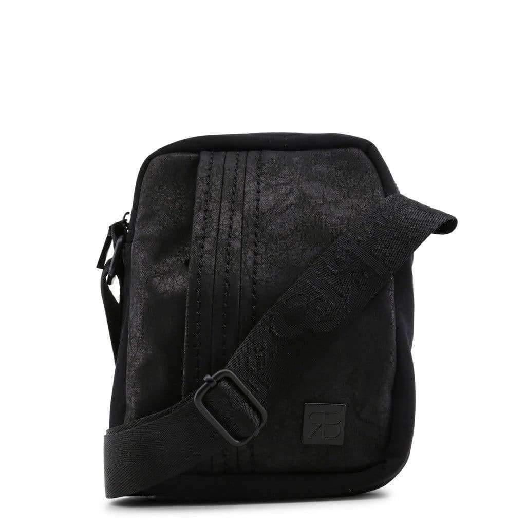 METROPOLIS-RB18W-256-2-NERO Renato Balestra Mens Crossbody Bags