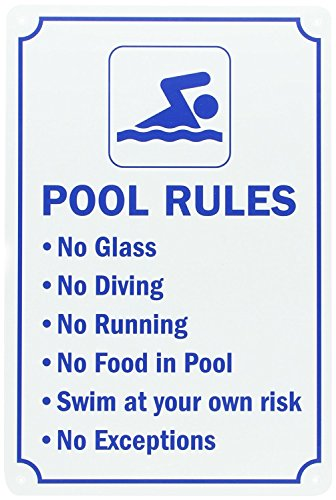 - Swimming Pool Rules, 15