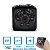 Mini Spy Hidden Camera -ENKLOV 1080P Portable Spy Voice Video Recorder Camera with Night Vision,Motion Detection,Indoor/Outdoor Use
