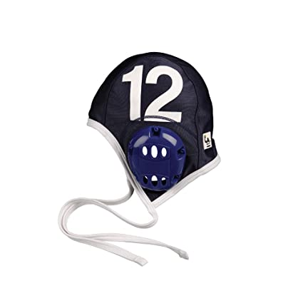 FINIS Adult Water Polo Plastic Caps Team Set, Navy