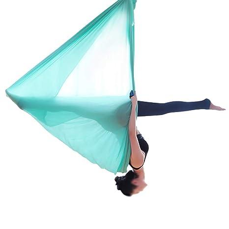 Amazon.com : Qiaofangliu Aerial Yoga Hammock Yogakan Aerial ...