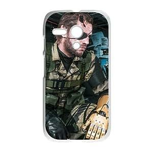 Motorola Moto G Phone Case White Metal Gear Solid V The Phantom of Pain WE1TY726059