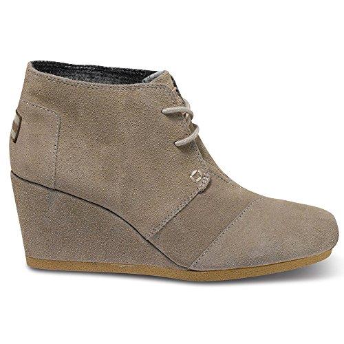 Pantaloncini Corta Donna Desert Boots Con Zeppa Taupe