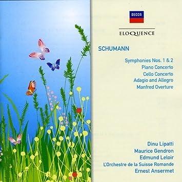 Schumann: Symphonies Nos. 1 & 2 / Piano Concerto / Cello Concerto by Lipatti (2009-11-17)