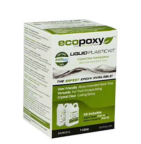 EcoPoxy - Liquid Plastic 20 Liter - 1:1 Ratio