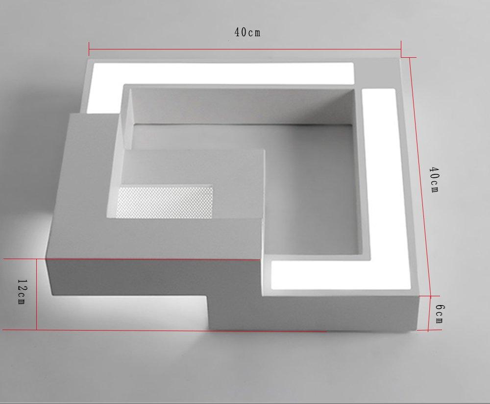 Lampade A Led Da Soffitto Per Ufficio : Zmh plafoniera led da soffitto i moderno lampada per l