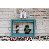 36 Turquoise Console Table