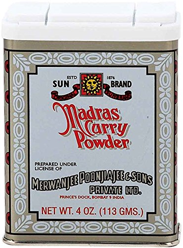 - Sun Brands Madras Curry Powder, 4 oz