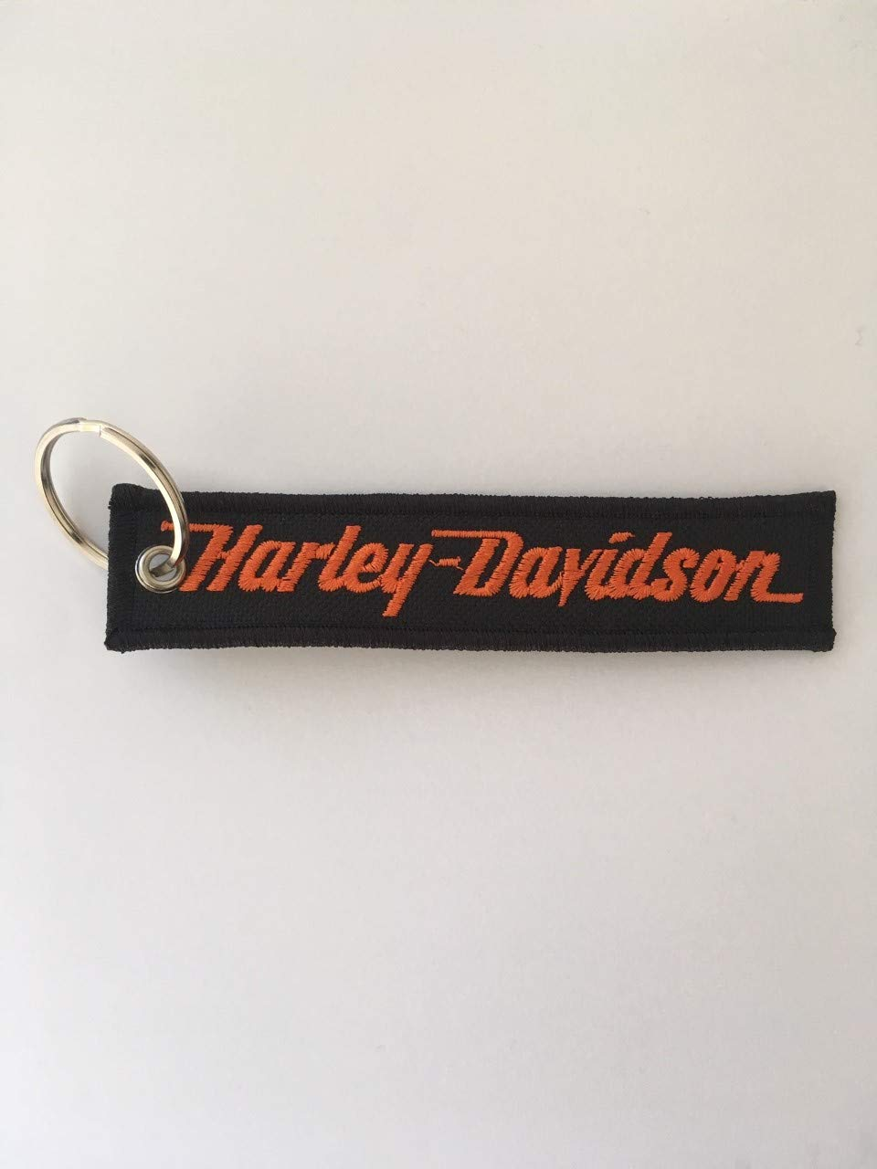 ON RICAMI Llavero Bordado Harley Davidson Classic Logo ...