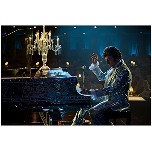 Behind the Candelabra 8inch x 10inch Photo Michael Douglas in Silver Glitter at the Piano kn -