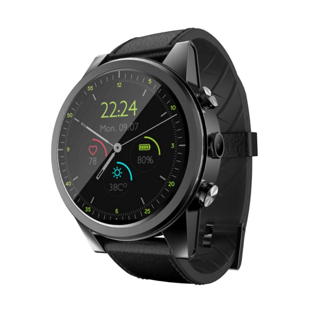 Amazon.com: GXOK Smart Watch X360 for Android 7 GPS 3+32GB ...