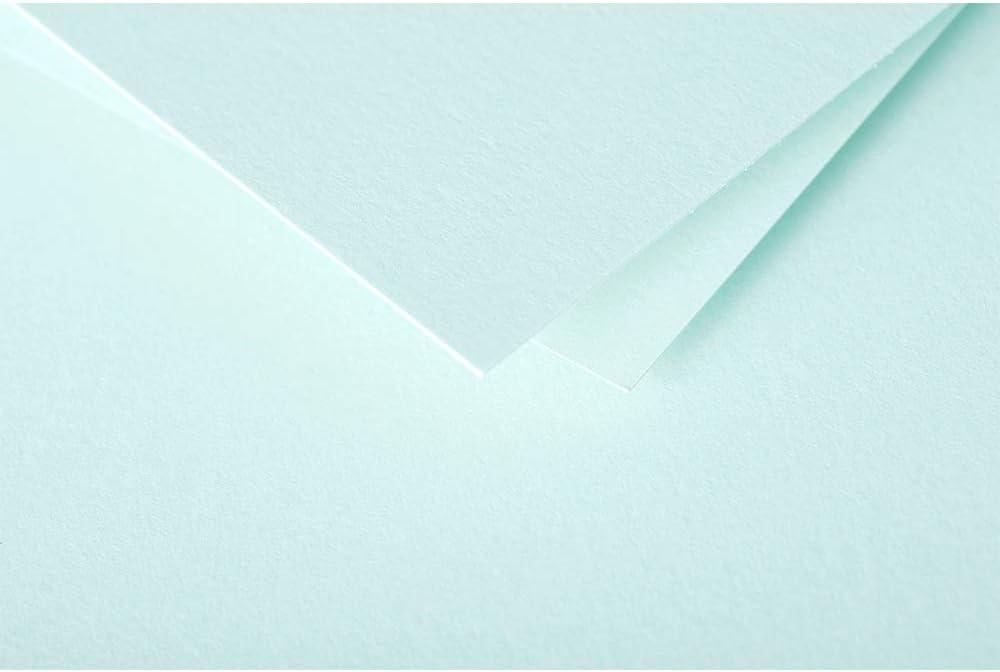 Paquete de 50 Hojas DIN-A4-210x297mm Pollen Verde Jade 120gr Clairefontaine 4233C