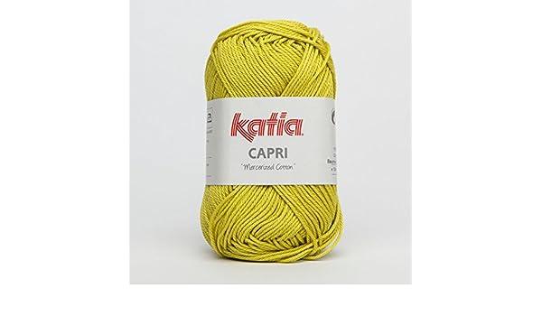 Lana Katia Capri 82142; color Limeade, 50 g: Amazon.es: Hogar