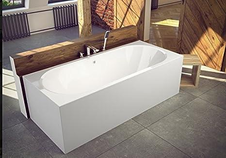 Vasca Da Bagno Acrilico Prezzi : Exclusive line rettangolo vasca da bagno acrilico vitae 150; 160
