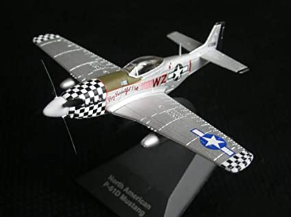 North American P-51 Mustang USA WWII 1942 Year 1//100 Scale Legendary Aircraft