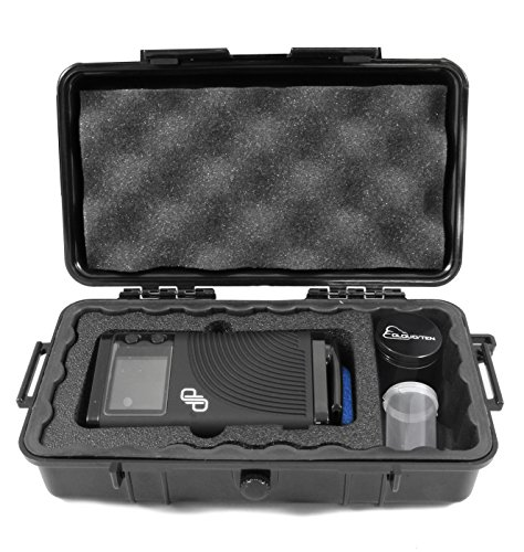 CLOUD/TEN Smell Odor Resistant Carry Case Designed for Boundless CFX, Pods, Cleaning Tools, USB Cable Charger - Includes Free Grinder and Canister (Vape Dry Herb Best)
